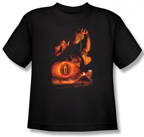 Image for Lord of the Rings Youth T-Shirt -Destroy the Ring