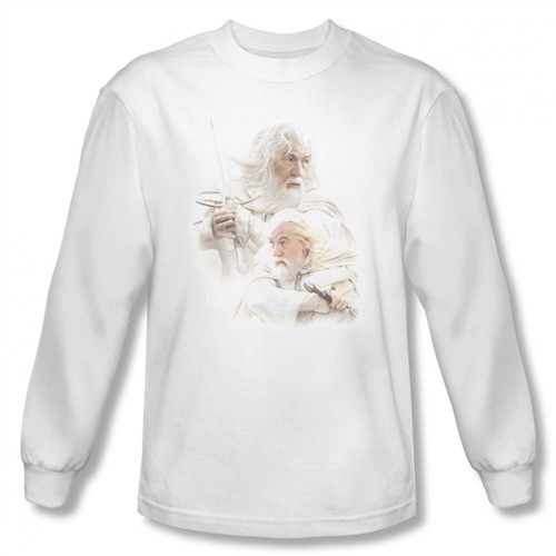 Image for Lord of the Rings Gandalf the White T-Shirt