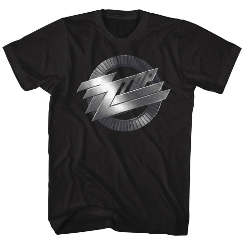 Image for ZZ Top Metal Logo T-Shirt