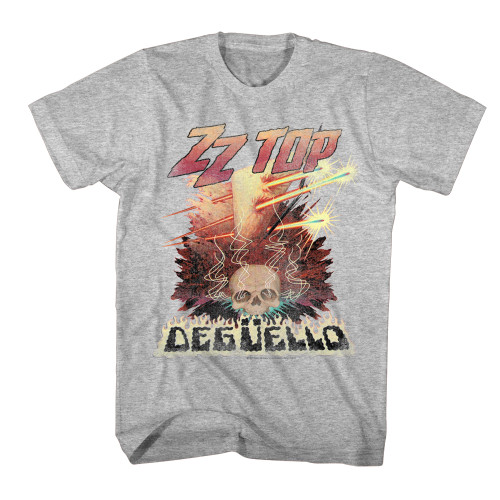 Image for ZZ Top Deguello Heather Classic T-Shirt
