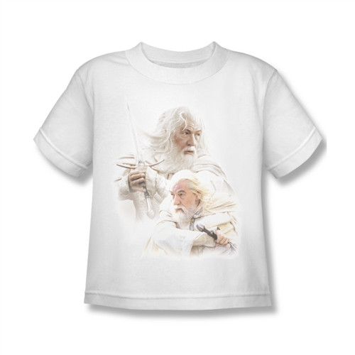 Image for Lord of the Rings Kids T-Shirt - Gandalf the White