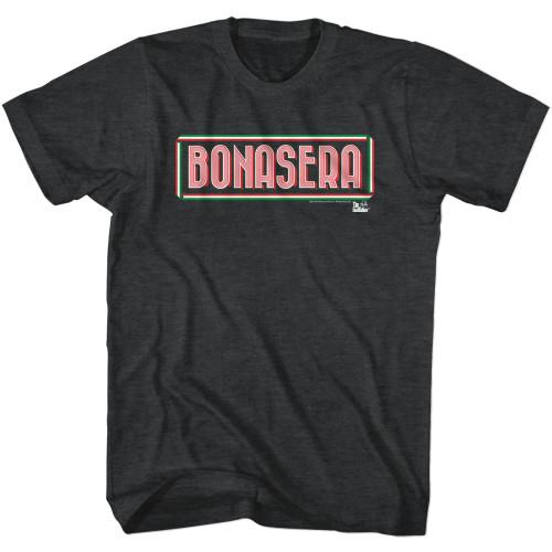 Image for Godfather Heather T-Shirt - Bonasera