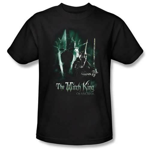 Image Closeup for Lord of the Rings the Witch King T-Shirt