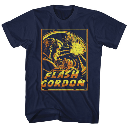 Image for Flash Gordon Space Explosion T-Shirt