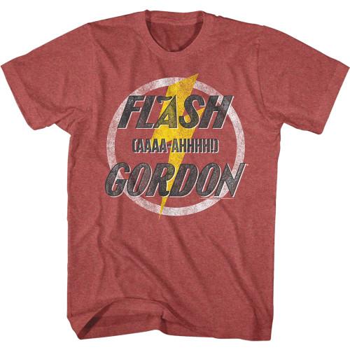 Image for Flash Gordon AAAA-AHHHH! Heather T-Shirt