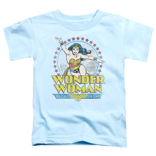 Image for Wonder Woman Star of Paradise Toddler T-Shirt