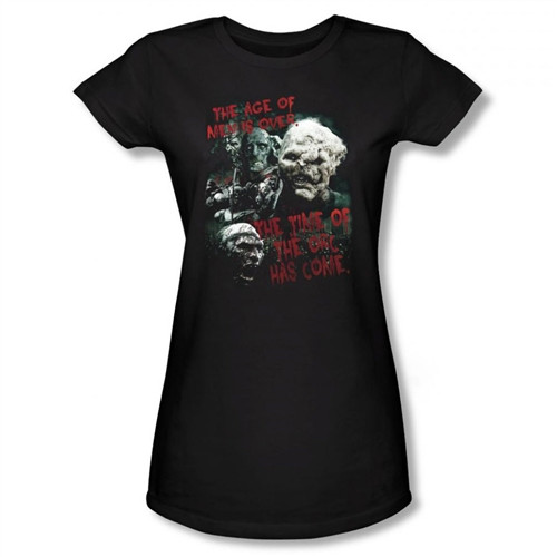 Image for Lord of the Rings Girls T-Shirt - the Time of the Orc has Come