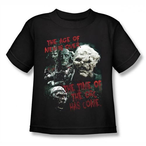 Image for Lord of the Rings Kids T-Shirt - the Time of the Orc has Come