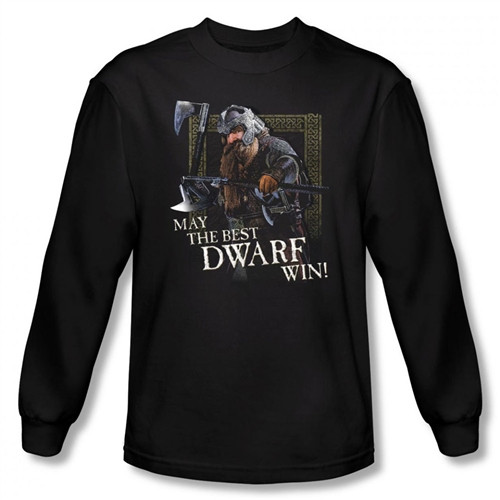 Image for Lord of the Rings May the Best Dwarf Win! T-Shirt