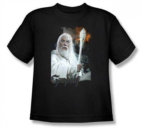 Image for Lord of the Rings Youth T-Shirt -Gandalf