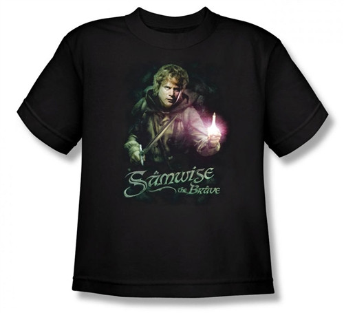 Image for Lord of the Rings Youth T-Shirt -Samwise the Brave