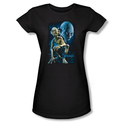 Image for Lord of the Rings Girls T-Shirt - Smeagol
