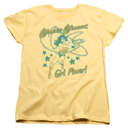 Image for Wonder Woman Womans T-Shirt - WW Girl Power
