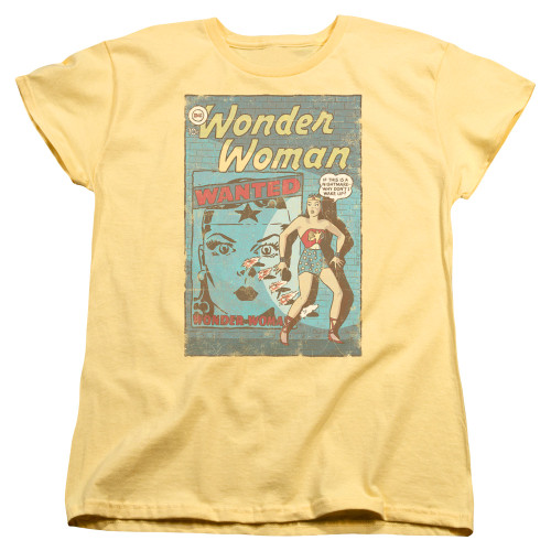 Image for Wonder Woman Womans T-Shirt - Wanted