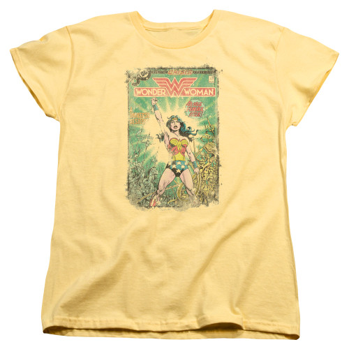 Image for Wonder Woman Womans T-Shirt - Besieged Cover