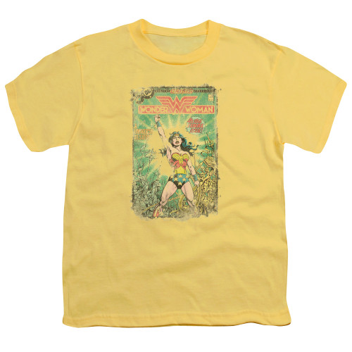 Image for Wonder Woman Youth T-Shirt - Besieged Cover