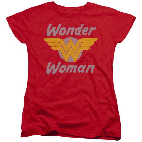 Image for Wonder Woman Womans T-Shirt - Wings
