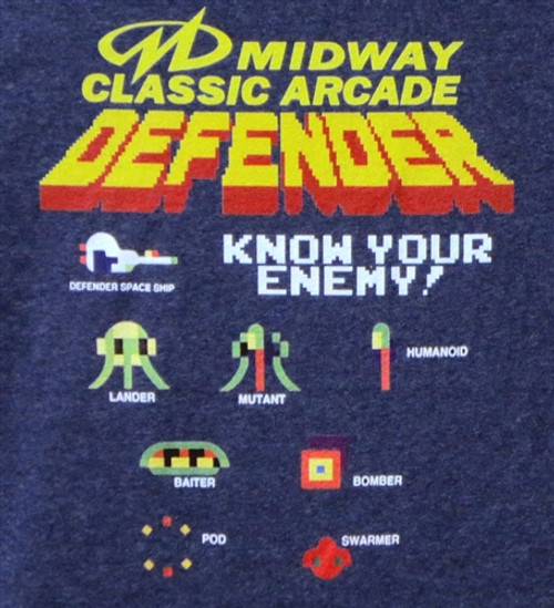 Image for Defender Know Your Enemy T-Shirt