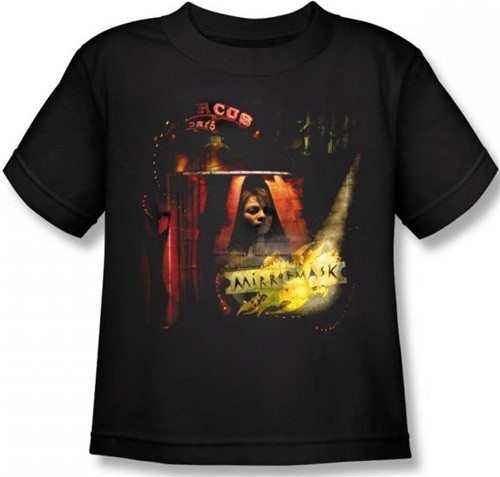 Image for MirrorMask Kids T-Shirt - Big Top Poster