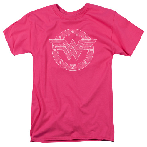 Image for Wonder Woman T-Shirt - Tattered Emblem