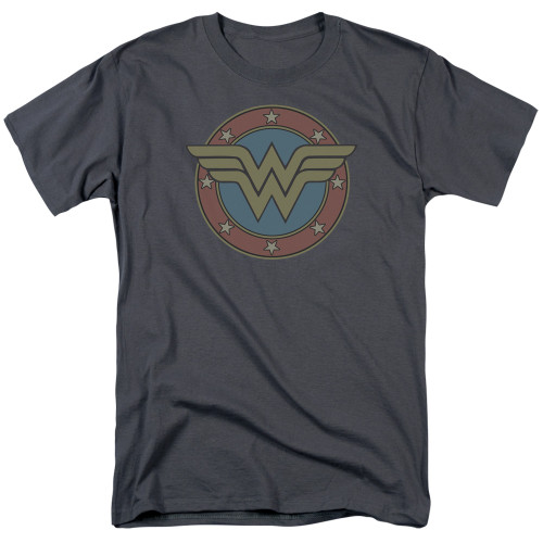 Image for Wonder Woman T-Shirt - Vintage Emblem