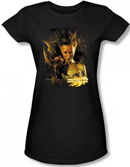 Image for MirrorMask Girls T-Shirt - Queen of Shadows