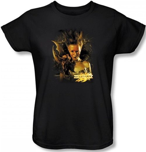 Image for MirrorMask Womans T-Shirt - Queen of Shadows