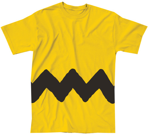 Image for Charlie Brown Stripe Costume T-Shirt