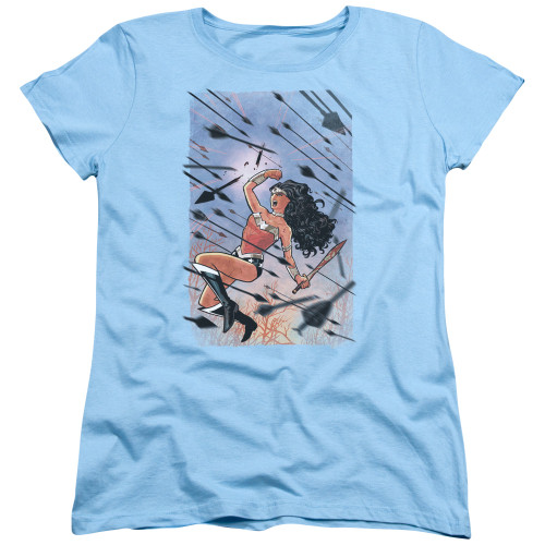 Image for Wonder Woman Womans T-Shirt - Arrow Storm