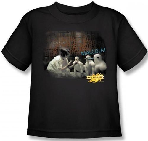 Image for MirrorMask Kids T-Shirt - Bob Malcolm