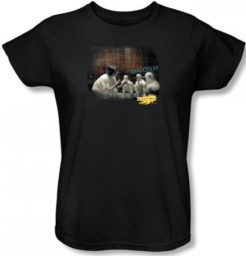Image for MirrorMask Womans T-Shirt - Bob Malcolm
