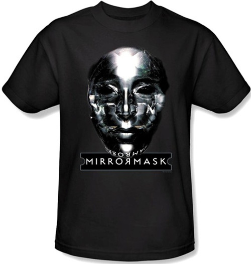 Image Closeup for MirrorMask T-Shirt - Mask