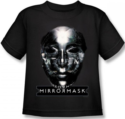 Image for MirrorMask Kids T-Shirt - Mask