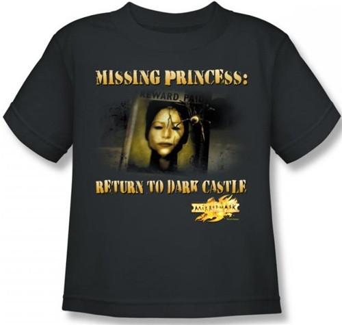 Image for MirrorMask Kids T-Shirt - Missing Princess