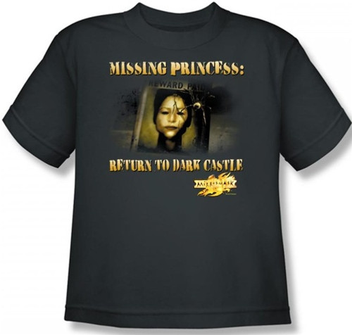 Image for MirrorMask Youth T-Shirt - Missing Princess