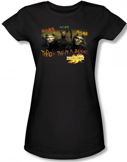 Image for MirrorMask Girls T-Shirt - Hungry