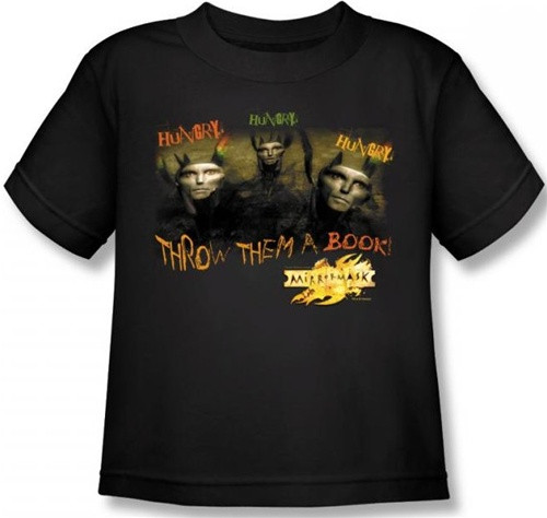 Image for MirrorMask Kids T-Shirt - Hungry