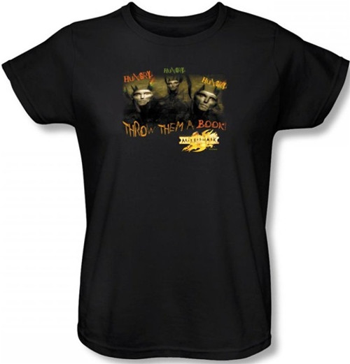 Image for MirrorMask Womans T-Shirt - Hungry