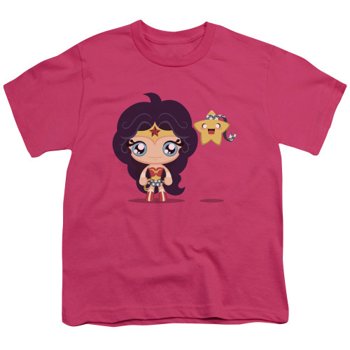 Image for Wonder Woman Youth T-Shirt - Cute