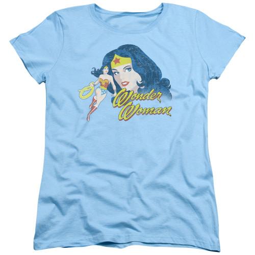 Image for Wonder Woman Womans T-Shirt - Portrait