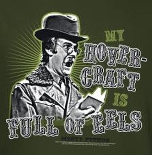 Image for Monty Python T-Shirt - Dirty Hungarian Phrasebook