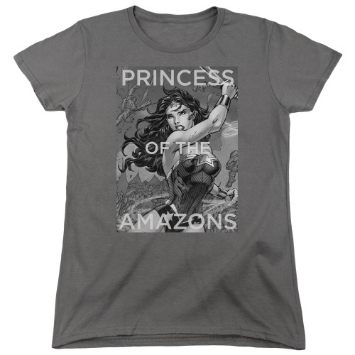 Image for Wonder Woman Womans T-Shirt - Princess of the Amazons