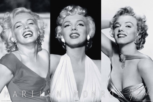 Image for Marilyn Monroe Poster - Trio