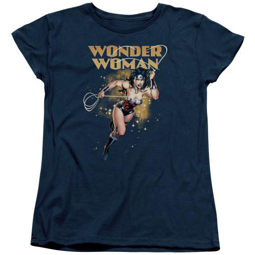 Image for Wonder Woman Womans T-Shirt - Star Lasso