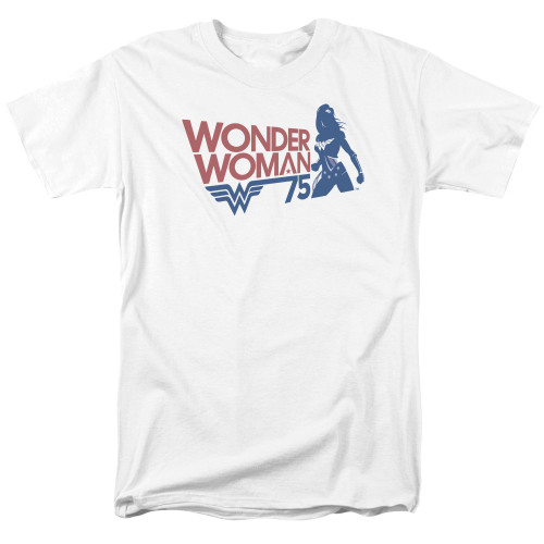 Image for Wonder Woman T-Shirt - 75 Silhoutte