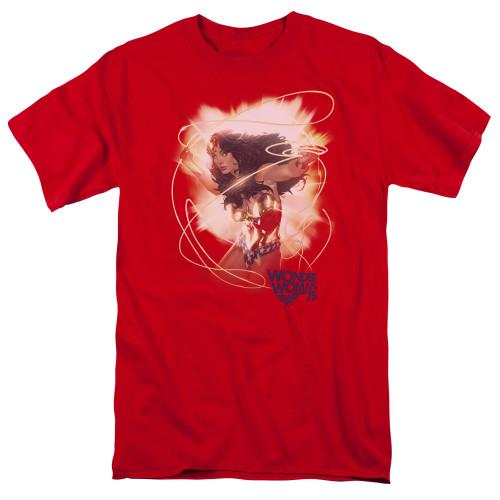 Image for Wonder Woman T-Shirt - 75th Burst
