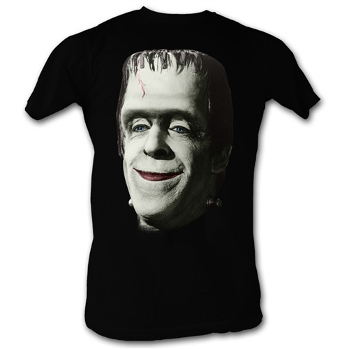 Image Closeup for The Munsters Herman Smile T-Shirt