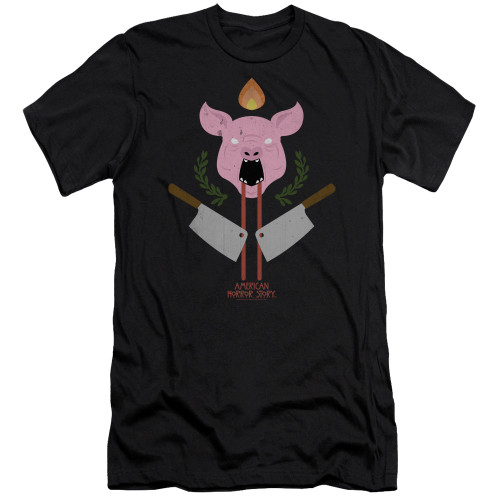 Image for American Horror Story Premium Canvas Premium Shirt - Pig Cleavers