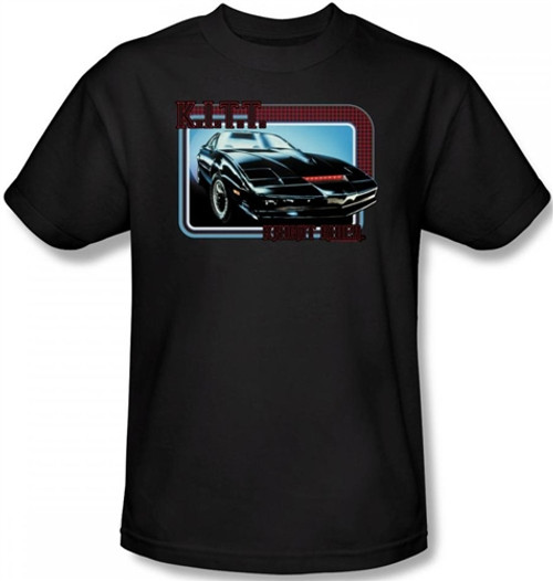 Image Closeup for Knight Rider KITT T-Shirt