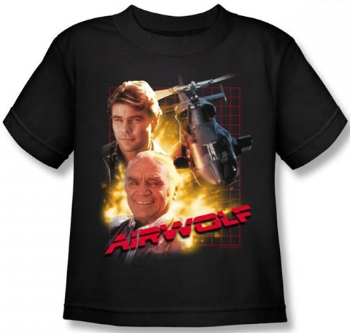 Image for Airwolf Kids T-Shirt